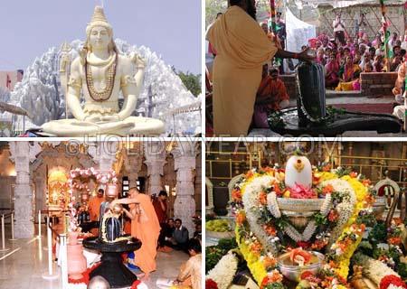Maha Shivratri or Shivaratri (Great Night of Lord Shiva)
